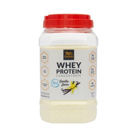 Mild vanilla whey 2 kg